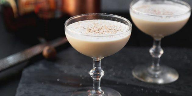 алкогольные коктейли: Коктейль «Александр»