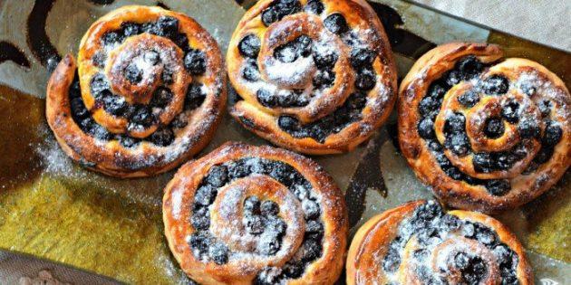 Черноплодная рябина рецепты: Булочки с черноплодной рябиной