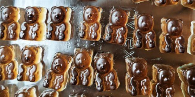 Кофейные мармеладные мишки
