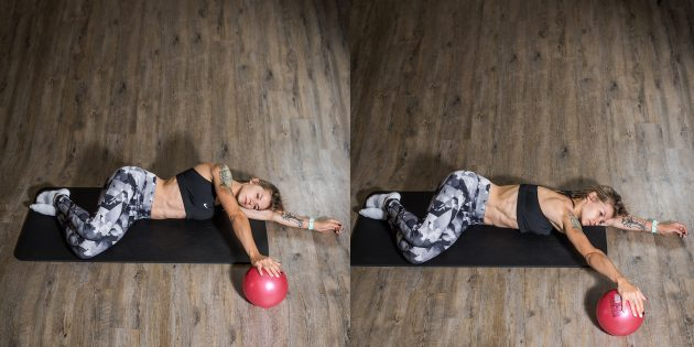 Упражнения при плоскостопии: Скручивание корпуса