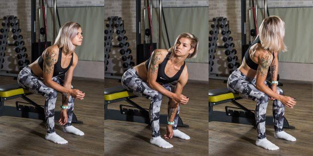 Упражнения при плоскостопии: Вращение