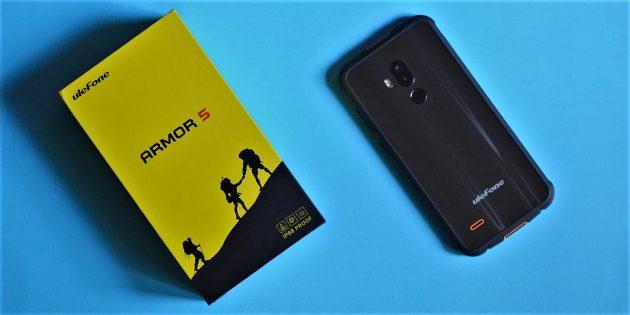 UlefoneArmor5: Коробка