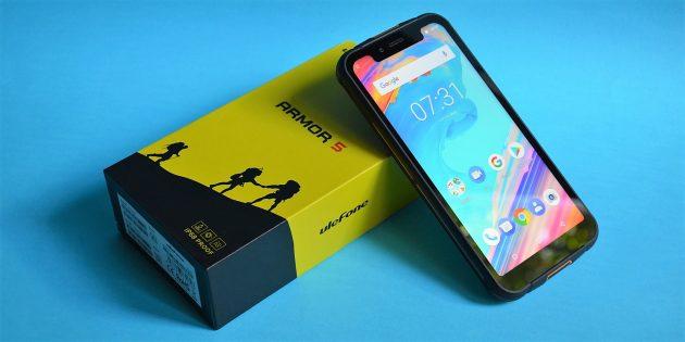 Обзор Ulefone Armor — красивого защищённого смартфона с NFC