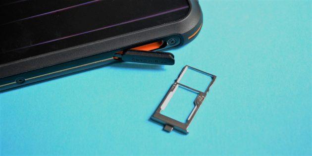 UlefoneArmor5: Лоток для сим-карты