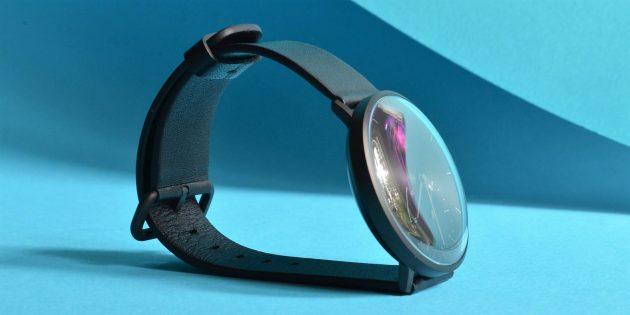 Xiaomi Mijia Smartwatch: Вид сбоку