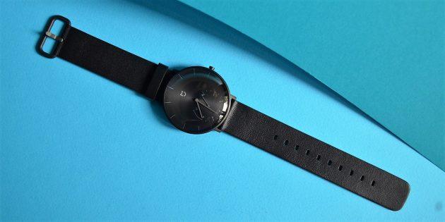 Обзор Xiaomi Mijia Smartwatch — стильных часов с шагомером и влагозащитой
