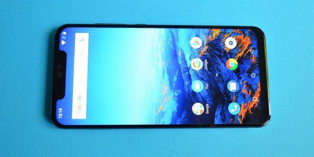 UMIDIGI Z2: Экран