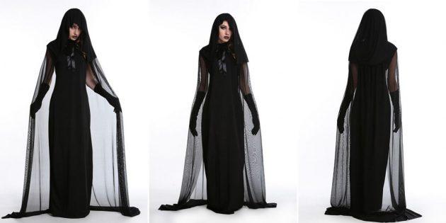 Костюмы на Хеллоуин с AliExpress: вампирша