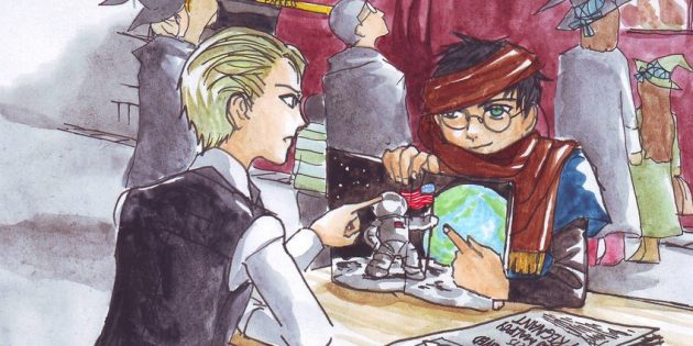 Гарри Поттер и методы рационального мышления: Иллюстрация из книги