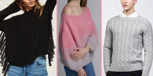 Модные свитера и кардиганы осени-зимы 2018/2019, которые украсят любой гардероб