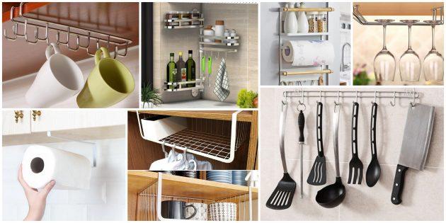 товары для кухни: дополнительные крючки