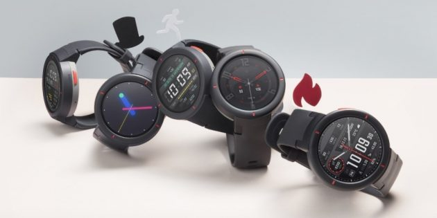 Умные часы Amazfit Verge: датчики