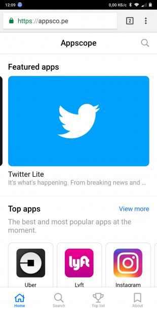 Appscope: Twitter