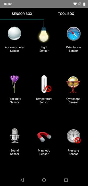 UMIDIGIOnePro: SensorBox