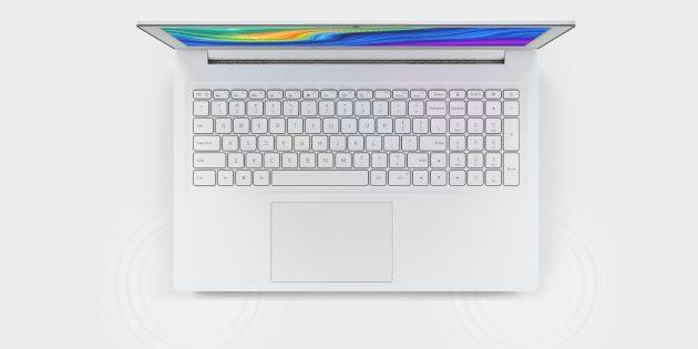Xiaomi Mi Notebook Lite: клавиатура