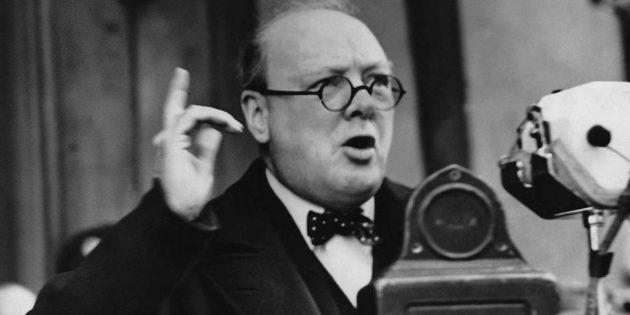 утренний ритуал: Уинстон Черчилль