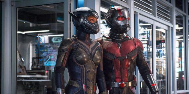 Вселенная Marvel: Человек-муравей и Оса
