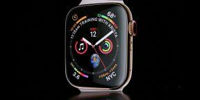 Apple представила новые умные часы Watch Series 4