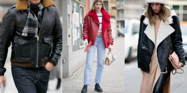 Модные куртки 2018–2019: авиаторы
