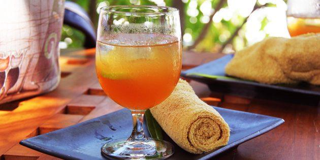 фреши рецепты: Мандариновый фреш с лаймом и грейпфрутом