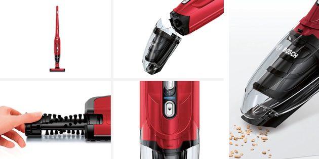 Вертикальный беспроводной пылесос Bosch BBH216