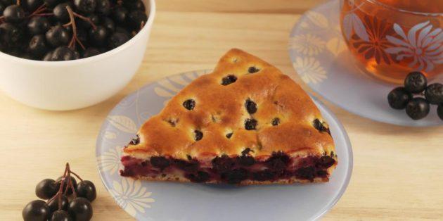 Черноплодная рябина рецепты: Творожный пирог с черноплодной рябиной