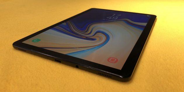 Samsung Galaxy Tab S4: экран