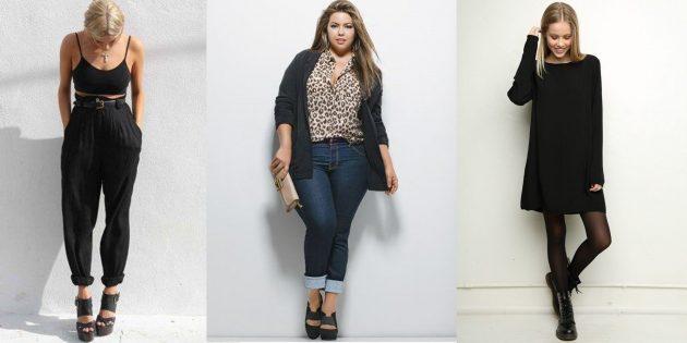 Выбор одежды: Неправильная длина