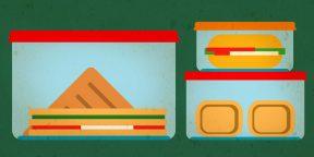 Обеды, которые можно взять с собой на учёбу