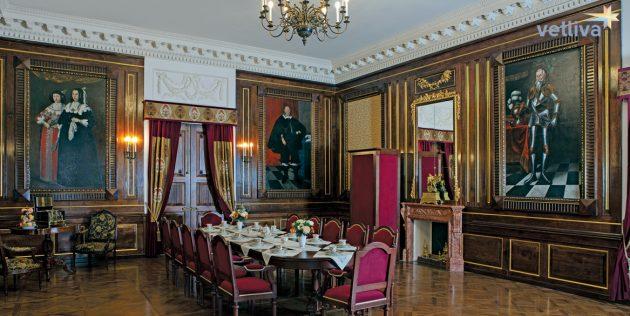 Интерьер Несвижского замка