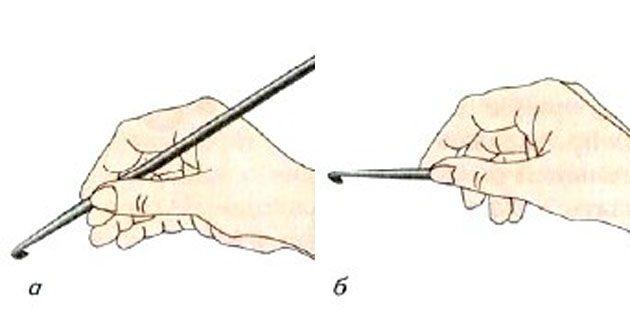 Как научиться вязать крючком: крючок