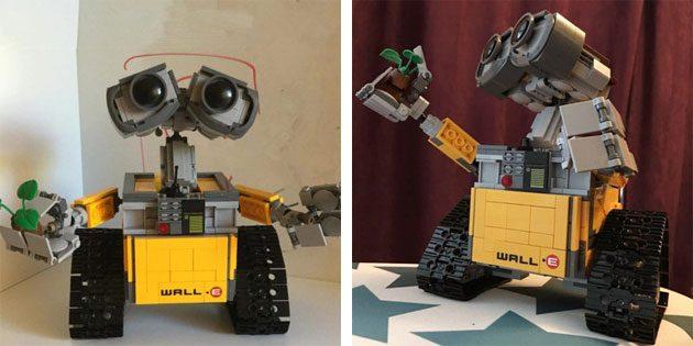 Конструктор робота Валл-И