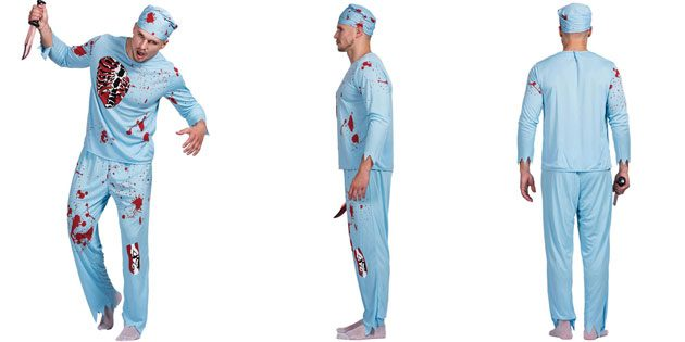 костюм злого доктора