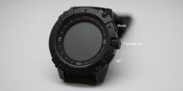 Умные часы Matrix PowerWatch без подзарядки