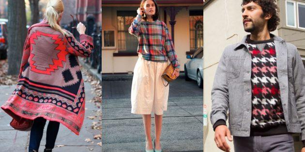 Модные свитера и кардиганы 2018-2019: стиль «одеялко»