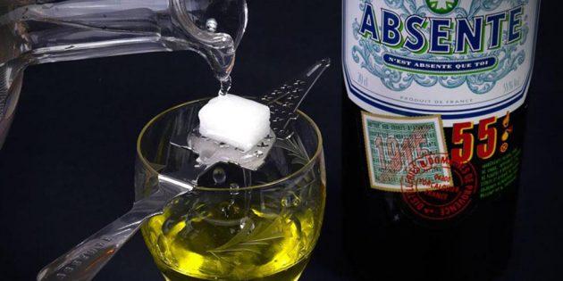 алкогольные коктейли: Абсент