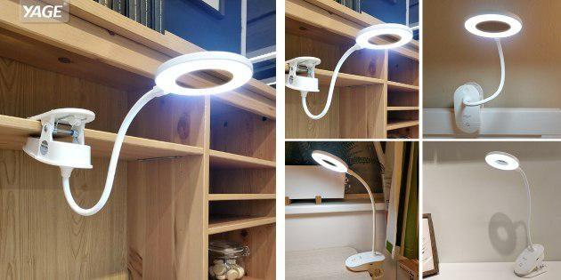 Лампа с креплением