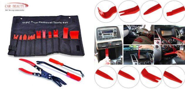 Инструменты для снятия обшивки