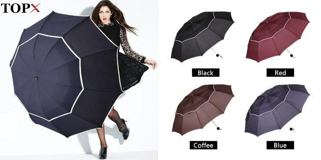 Прочный зонт