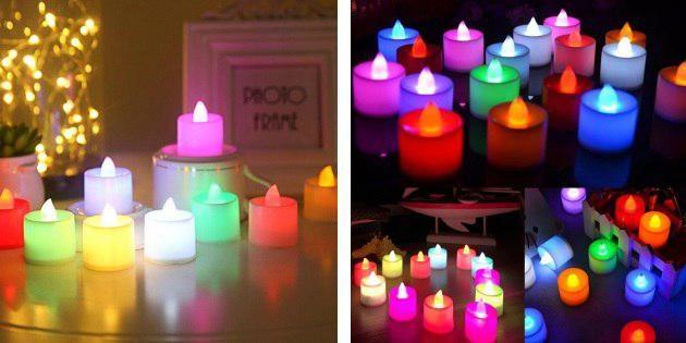 Светодиодные свечи (led-свечи)