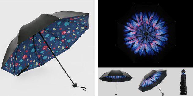 Зонтики с принтами