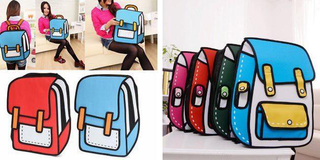 2D-рюкзак