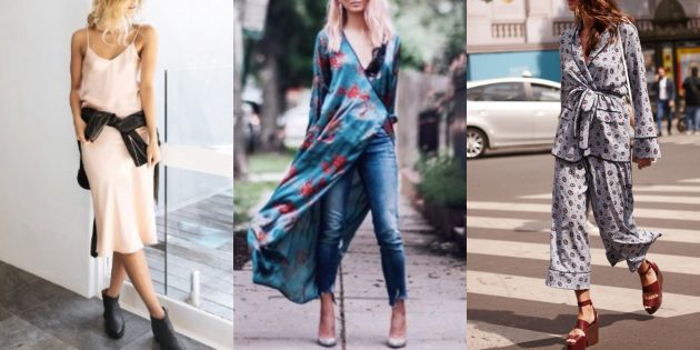Мода 2018/2019: Пижамный стиль