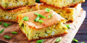 10 заливных пирогов, которые заменят вам обед или ужин