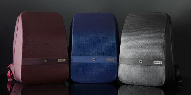 Городской рюкзак: Три варианта расцветки