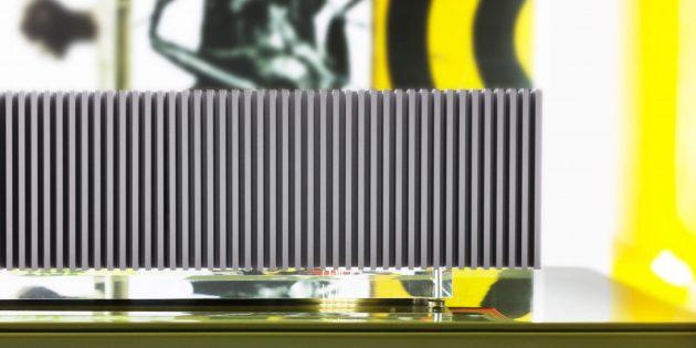 домашняя аудиосистема: Алюминиевая оболочка