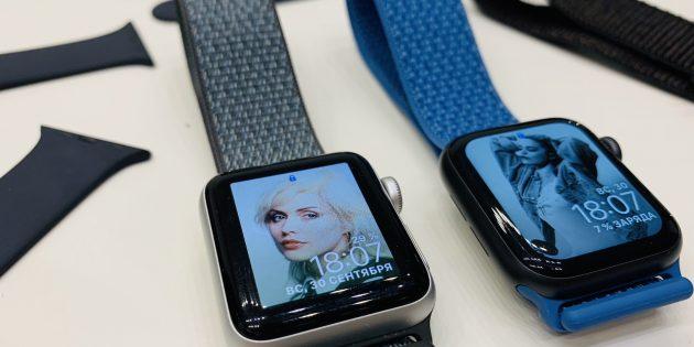Apple Watch Series 4: Совместимость с ремешками прошлых поколений