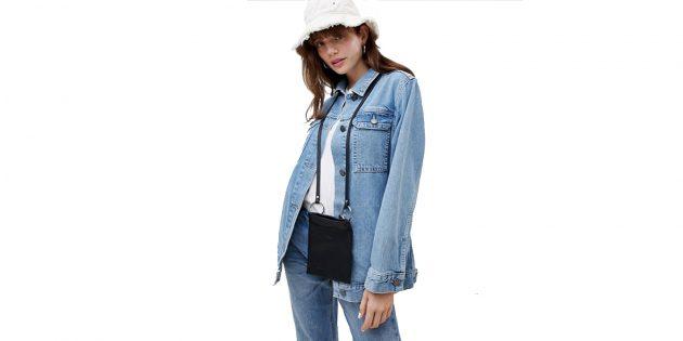 Бежево-синяя куртка Asos Design