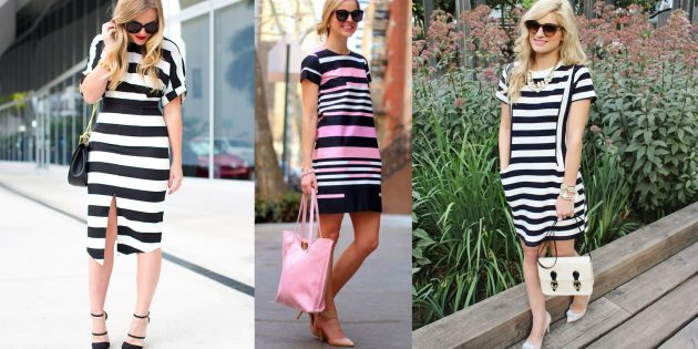 Выбор одежды: Горизонтальные узоры