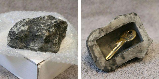 Тайник-камень